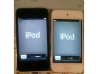 2x iPod Touch 4th Gen 8GB (screen defects)