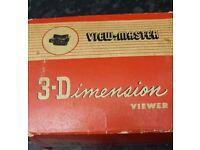 Old 3-D VEIWMASTER