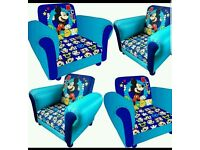 Children mickey mouse sofa
