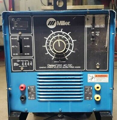 Used Miller Dialarc 250 Acdc Welder