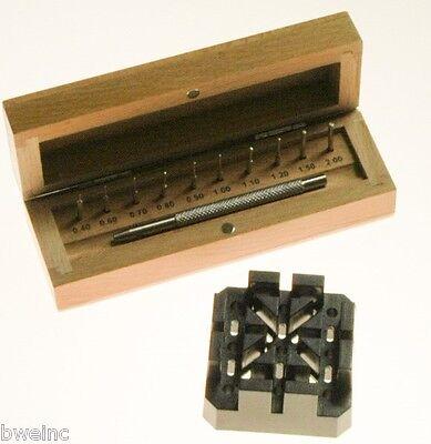 Suissetek Punch Set for Watch Bracelet Link-Pin Removal