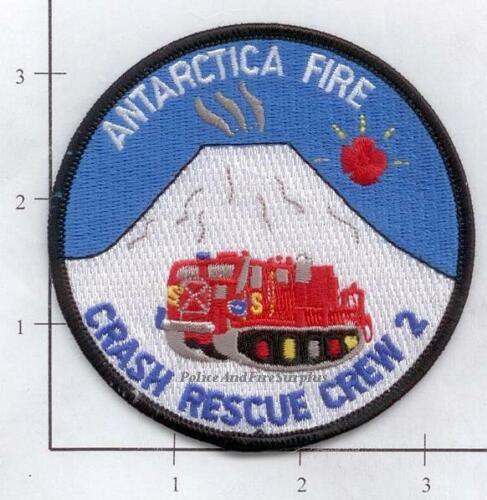 Antarctica - Antarctica Crash Rescue Crew 2 Fire Dept Patch