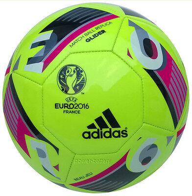 Adidas Euro 16 Glider Fußball Trainingsball EM Frankreich Seltene Farbe AZ1648 (Euro Glider Fußball-ball)