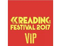 READING FESTIVAL TICKETS - VIP GUEST WEEKEND CAMPING