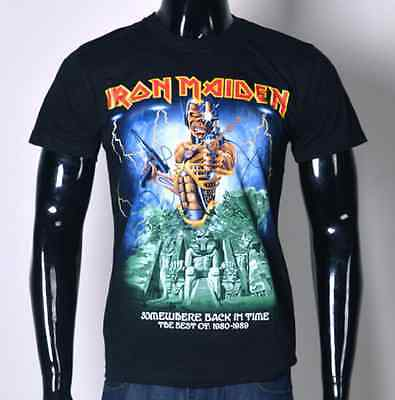 Iron Maiden Somewhere In Time Graphic T-Shirt  - S M L