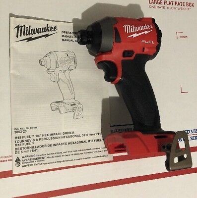 Milwaukee M18 2853-20 Impact Driver 1/4 in. Hex 18-Volt Lithium-Ion (Tool-Only)