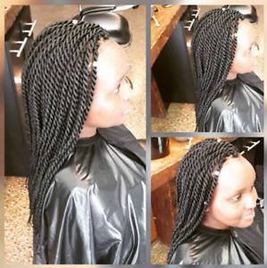 Coiffure Africaine - Tresses, Twists, Mèche, Perruque, etc