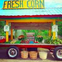 Produce Stand in Port Carling