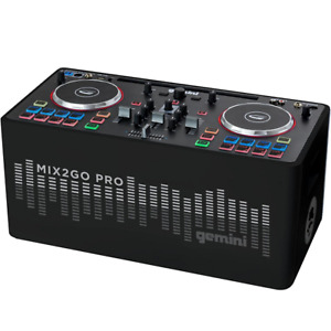 Gemini MIX2GO PRO - Wireless DJ Sound System & Controller