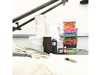 PRINT COURSES - screenprint (fabric and paper), collagraph and etching