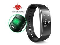 New iWOWN i6 PRO Heart Rate Monitor Smart Watch IP67 Sleep Fitness Tracker for Android and iOS Black