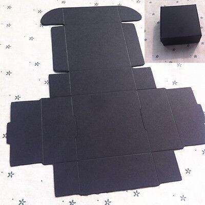 10pc Mini Black Cardboard Box 55mm55mm25mm Gift Box Candy Jewelry Diy Gfit Box