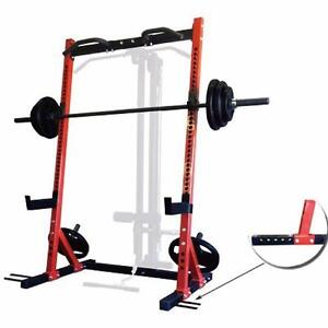 SQUAT RACK HALF RACK BENCHES WEIGHTS IN STOCK CALGARY