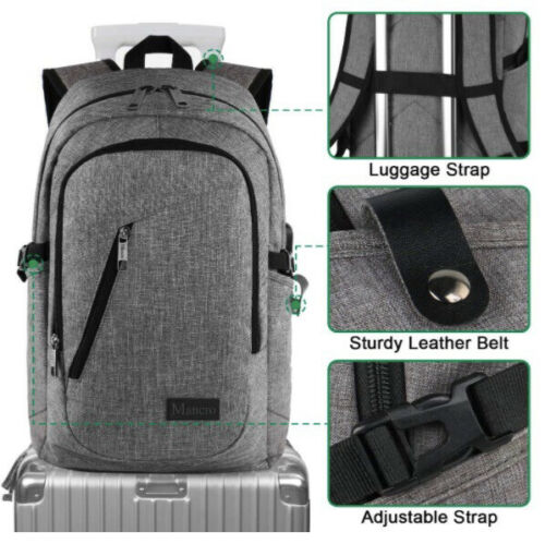College/travel Backpack Including Charging Portal