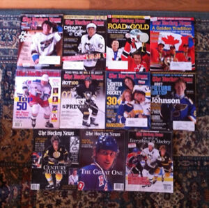 The Hockey News Collector's Edition magazines