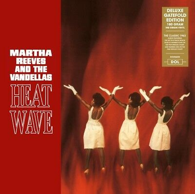 Martha Reeves And The Vandellas - Heat Wave Deluxe Gatefold Edition Vinyl LP