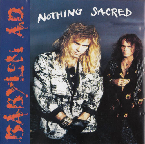 Babylon A.d.-nothing Sacred 1992 Cd With Booklet
