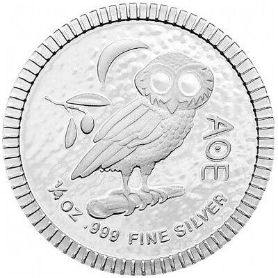 Eule von Athen / AOE / Tetradrachme - 999 SILBER - SILBERMÜNZE - SILBERBARREN