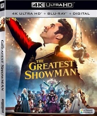 Greatest Showman 4K Uhd 4K  Used  Blu Ray Only Disc Please Read