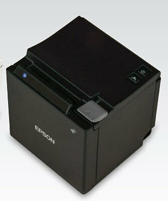 Epson Tm-m10 Compact Pos 2 Usb Thermal Pos Receipt Printer Black Restaurant New