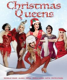 TONIGHT!! Christmas Queens Ticket Troxy London