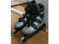 Unisex Roller Blades/Inline Skates, UK size 5.