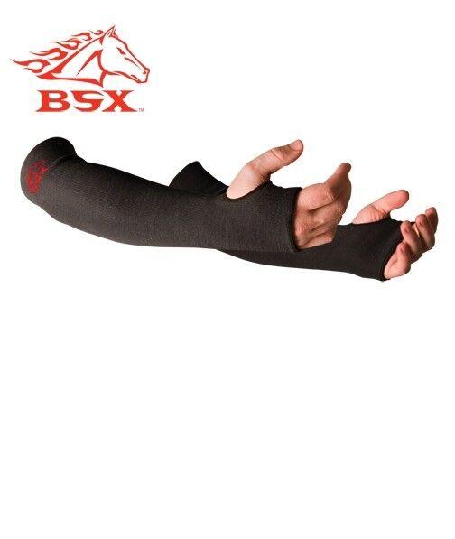 Black Stallion Xtreme BSX Sleeves made with Kevlar knit - 1PR  BX-KK-18T