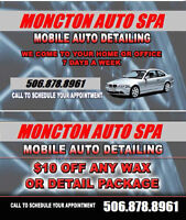 Mobile Auto Detailing Service (SUMMER PROMO $139.99)