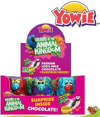 YOWIE COLOURS OF THE ANIMAL KINGDOM BOOF NAP DITTY SQUISH 12CT NEW EDITION