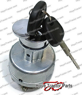 Diesel Tractor Ignition Starter Switch - Momentary Glow Plug Position