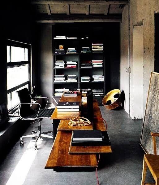 Authentic Eames Aluminium Group Management Chair In Black