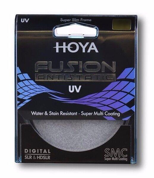 HOYA FUSION 82mm UV FILTER - ANTISTATIC FILTER – MADE IN JAPAN & BONUS 16GB USB