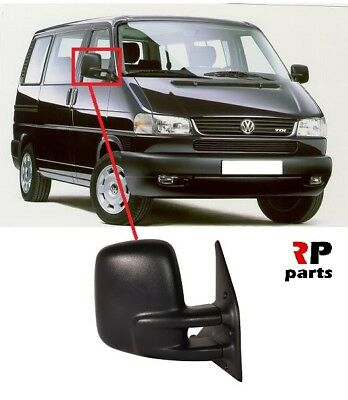 RIGHT LHD VW TRANSPORTER T4 1990-2003 NEW WING MIRRORS ELECTRIC 4PIN LEFT