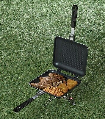 TF Gear NEW Camping Outdoor Sandwich Toaster Grill Toastie Maker Carp Fishing