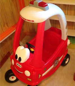 "Little Tikes Cozy Coupe ""fire/rescue truck"""