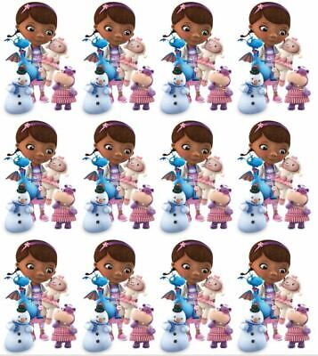 Doc McStuffins and Friends Cupcake Toppers Edible Image Disney Cake Toppers - Doc Mcstuffin Cupcake Toppers