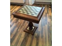 Chess/Checkers/Roulette/Backgammon Table