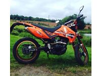 Pulse Adrenaline Supermoto 125cc