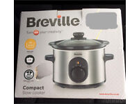 Breville 1.5ltr Compact Slow Cooker Brand New Boxed Never Used and never opened RRP £29.99