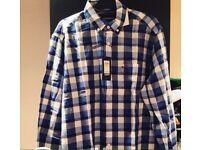 Tommy Hilfiger check long sleeve men's shirt
