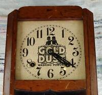 Gold Dust Washing Powder Clock