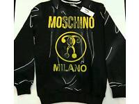 MENS MOSCHINO JUMPERS - MANY SIZES - WOW - HIGH QUALITY - SALE