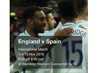 England vs Spain 15 nov