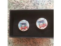 EDDIE STOBBART CUFF LINKS