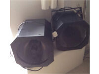2 x SOUNDLAB 400W UV DISCO LIGHTS IN GOOD WORKING ORDER LINCOLN