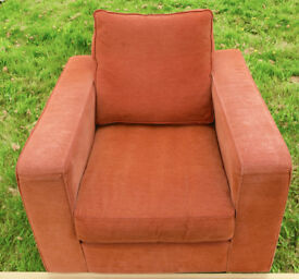 VERY COMFORTABLE ARM CHAIR.