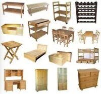 Will take free or cheap furniture of any kind off your hands