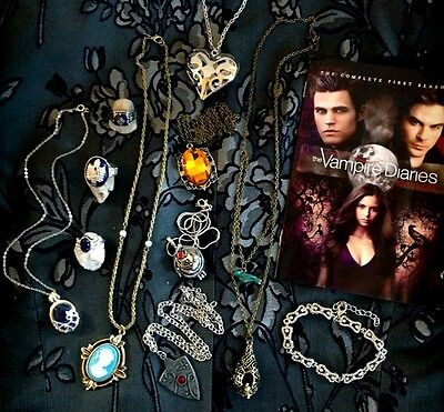 The Vampire Diaries Inspired Jewellery Stefan Elena Caroline necklace bracelet