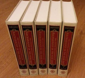 Oxford Encyclopedia of Archaeology in the Near East (5 volumes)