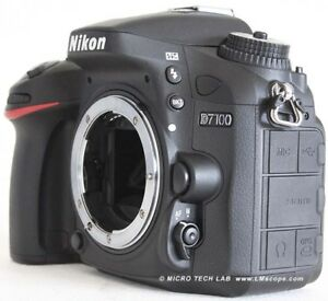 NIKON D7100 body in excellent condition in the box